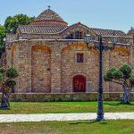 Церковь Ангелоктистис.Ларнака.Кипр.Фото.