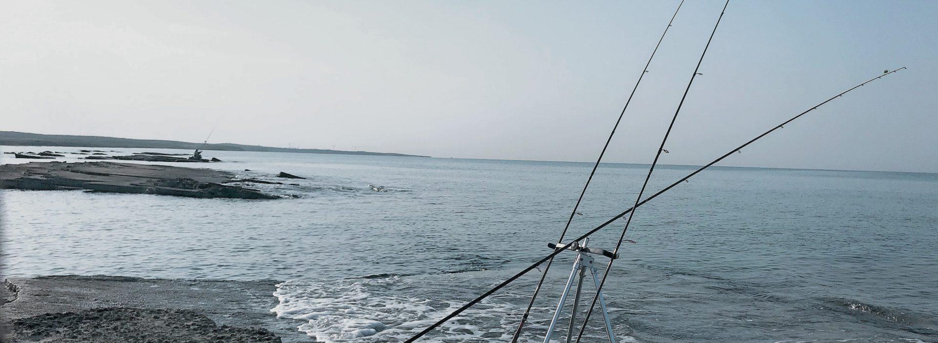 Морская рыбалка на Кипре с берега в портах и с волнорезов.