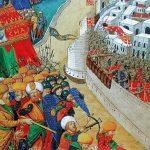 Взятие крепости турками-османами