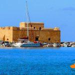Морской порт Пафоса.Форт-крепость.