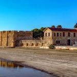 Крепость-форт города Ларнака.Кипр.