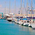 Ларнака - Марина.Порт для яхт в Ларнаке.Кипр. Рыбалка на Кипре.