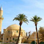 Ларнака.Мечеть Хала Султан Текке.Соленые озера .