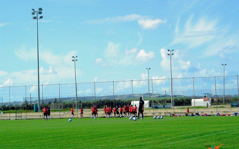 Футбол на Кипре.УТС на Кипре._1